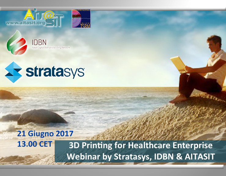 Webinar 3D printing for Healthcare Enterprise