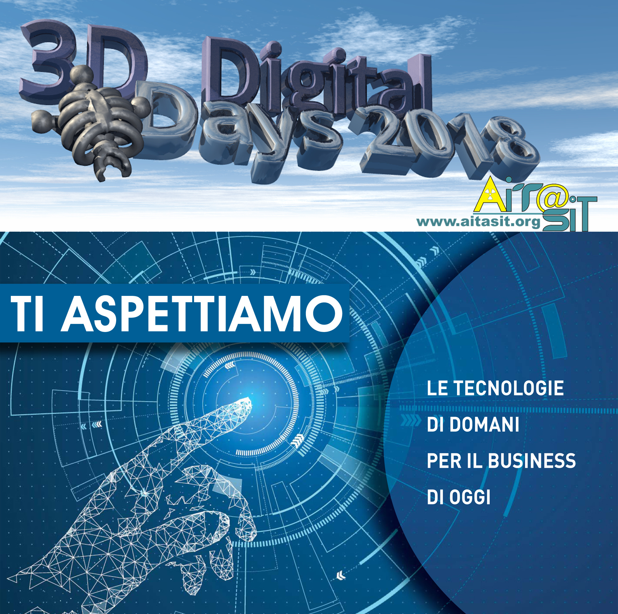 Atti del workshop 3D Digital Days Presso Technology Hub 2018